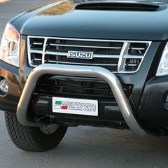 Stainless Steel Front Protection Bull Bar 76mm Isuzu D-Max Mk3 (2007 - 2012)