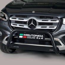 Front A Bar 63mm Black Mach Road Legal EU Crash Tested Mercedes X Class (18-21)