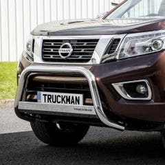 Front A Bar 63mm Stainless Mach Road Legal EU Crash Tested Navara NP300 (16 on)