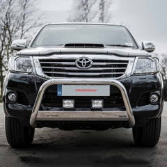 Front A Bar 63mm Stainless Mach Road Legal EU Crash Tested Hilux Mk7 (11-16)