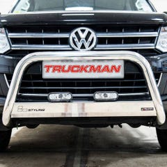 Front A Bar 63mm Stainless Mach Road Legal EU Crash Tested VW Amarok Mk1(10-16)