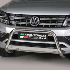 Front A Bar 63mm Stainless Mach Road Legal EU Crash Tested VW Amarok Mk2 (16-21)