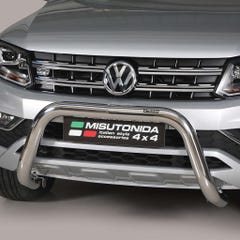 Front Bar 76mm Stainless Mach Road Legal EU Crash Tested VW Amarok Mk2 (16-21)