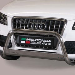 EU Front Bar 63mm Stainless Mach for Audi Q5  (2011 on)