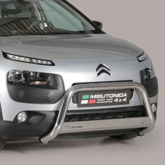 Stainless Steel Front Protection Bull Bar 63mm Citroen C4 Cactus (2015 Onwards)