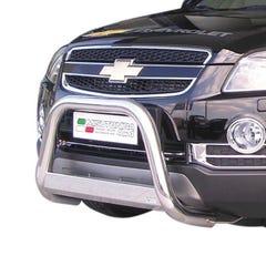 Stainless Steel Front Protection Bull Bar 63mm Chevrolet Captiva (2007 Onwards)