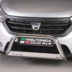 Stainless Steel Front Protection Bull Bar 63mm Dacia Dokker (2012 Onwards)