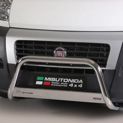 Stainless Steel Front Protection Bull Bar 63mm Fiat Ducato (2014 Onwards)