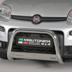Stainless Steel Front Protection Bull Bar 63mm Fiat Panda 4x4 (2013 Onwards)