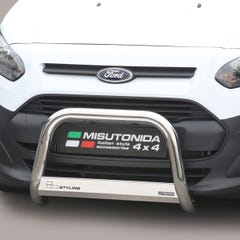 Stainless Steel Front Protection Bull Bar 63mm Ford Transit Connect Mk2 (2014 Onwards)