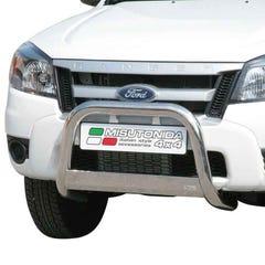 Stainless Steel Front Protection Bull Bar 63mm Ford Ranger Mk4 (2009 - 2012)