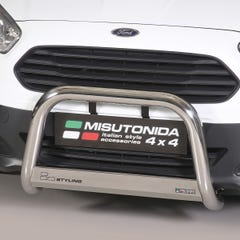 Stainless Steel Front Protection Bull Bar 63mm Ford Transit Courier (2014 Onwards)