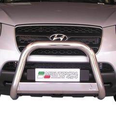 Stainless Steel Front Protection Bull Bar 63mm Hyundai Santa Fe Mk3 (2012 - 2018)