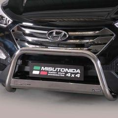 Front A Bar 63mm Stainless Mach Road Legal EU Crash Tested Hyundai Santa Fe Mk5