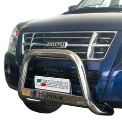 Stainless Steel Front Protection Bull Bar 63mm Isuzu D-Max Mk3 (2007 - 2012)