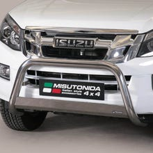 Stainless Steel Front Protection Bull Bar 63mm Isuzu D-Max Mk4-5 (2012 - 2020)