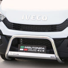 Stainless Steel Front Protection Bull Bar 63mm Iveco Daily Mk6 (2014 Onwards)