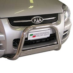 Stainless Steel Front Protection Bull Bar 63mm Kia Sportage Mk3 (2004 - 2008)