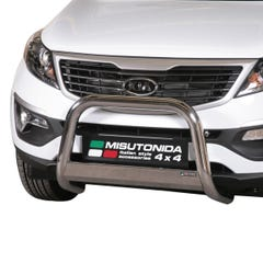 Front A Bar 63mm Stainless Mach Road Legal EU Crash Tested Sportage Mk5 (10 on)