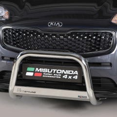 Stainless Steel Front Protection Bull Bar 63mm Kia Sportage Mk6 (2016 Onwards)