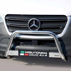 Stainless Steel Front Protection Bull Bar 63mm Mercedes Sprinter Mk5 (2018 Onwards)