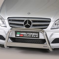 Stainless Steel Front Protection Bull Bar 63mm Mercedes Vito Mk3 (2010 - 2014)
