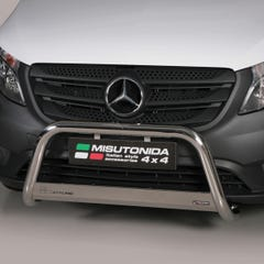 Stainless Steel Front Protection Bull Bar 63mm Mercedes Vito Mk4 (2014 Onwards)