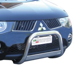 Stainless Steel Front Protection Bull Bar 63mm Mitsubishi L200 MK6 (2006 - 2009)