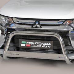 Stainless Steel Front Protection Bull Bar 63mm Mitsubishi Outlander Mk6 (2015 Onwards)