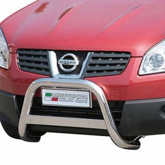 Front A Bar 63mm Stainless Mach Road Legal EU Crash Tested Qashqai+2 (08 on)
