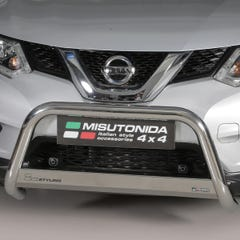 Stainless Steel Front Protection Bull Bar 63mm Nissan X-Trail Mk5 (2015 Onwards)