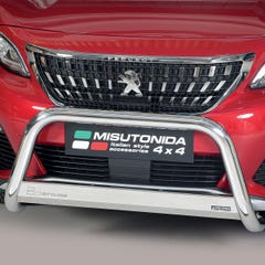 Stainless Steel Front Protection Bull Bar 63mm Peugeot 3008 (2016 Onwards)