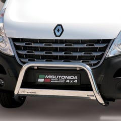 Stainless Steel Front Protection Bull Bar 63mm Renault Master (2010 Onwards)