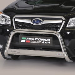 Stainless Steel Front Protection Bull Bar 63mm Subaru Forester (2014 Onwards)