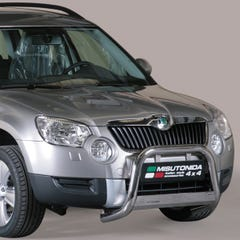 Front A Bar 63mm Stainless Mach Road Legal EU Crash Tested Skoda Yeti (10 on)
