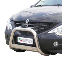 Stainless Steel Front Protection Bull Bar 63mm SsangYong Actyon Mk1 (2006 Onwards)