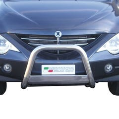 Stainless Steel Front Protection Bull Bar 63mm SsangYong Actyon Sports Mk1 (2007 Onwards)