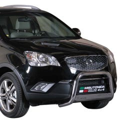 Stainless Steel Front Protection Bull Bar 63mm SsangYong Korando (2011 Onwards)