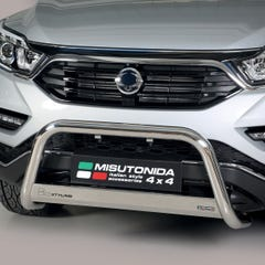 Stainless Steel Front Protection Bull Bar 63mm SsangYong Musso Mk3 (2018 Onwards)