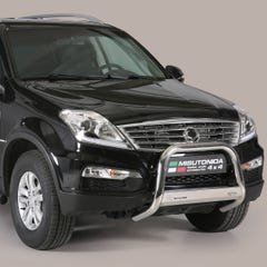 Stainless Steel Front Protection Bull Bar 63mm SsangYong Rexton Mk4 (2013 Onwards)
