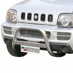 Front A Bar 63mm Stainless Mach Road Legal EU Crash Tested Jimny Mk2 Diesel