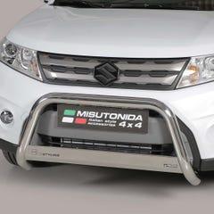 Stainless Steel Front Protection Bull Bar 63mm Suzuki Vitara Mk3 (2015 Onwards)