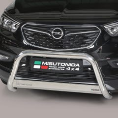 Stainless Steel Front Protection Bull Bar 63mm Vauxhall Mokka X (2016 Onwards)