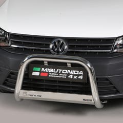 Stainless Steel Front Protection Bull Bar 63mm Volkswagen Caddy Mk4 (2015 Onwards)