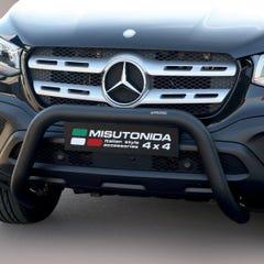 Front Bar 76mm Black Mach Road Legal EU Crash Tested Mercedes X Class (18 on)