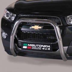 Stainless Steel Front Protection Bull Bar 76mm Chevrolet Captiva Mk2 (2011 - 2013)