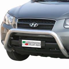 Stainless Steel Front Protection Bull Bar 76mm Hyundai Santa Fe Mk3 (2006 - 2009)