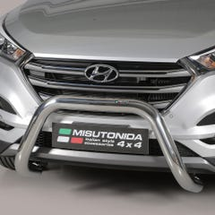 Stainless Steel Front Protection Bull Bar 76mm Hyundai Tucson Mk1 (2015 Onwards)