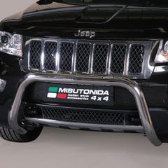 Stainless Steel Front Protection Bull Bar 76mm Jeep Grand Cherokee Mk6 (2011 - 2014)