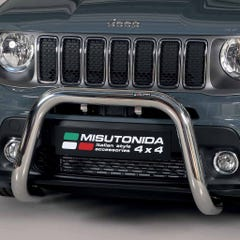 Stainless Steel Front Protection Bull Bar 76mm Jeep Renegade Mk2 (2018 Onwards)